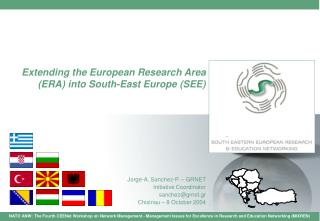 Extending the European Research Area (ERA) into South-East Europe (SEE)
