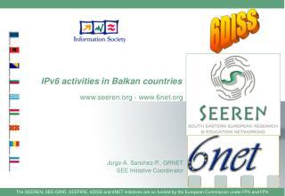 IPv6 activities in Balkan countries