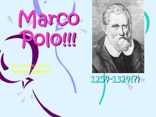 Marco Polo!!!