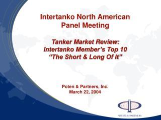 Top Five  Short Term  Factors Affecting The Oil Tanker Market