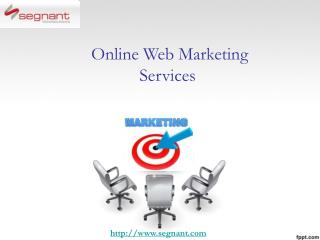 Online Web Marketing Services