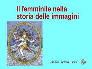 Il femminile nella storia delle immagini