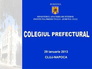 29 ianuarie 2013 CLUJ-NAPOCA