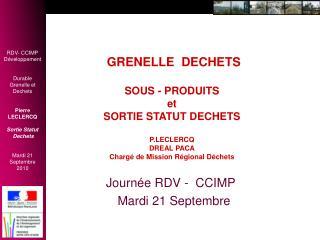 Journ�e RDV -  CCIMP    Mardi 21 Septembre
