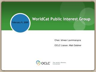 WorldCat Public Interest Group