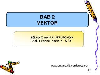BAB 2 VEKTOR