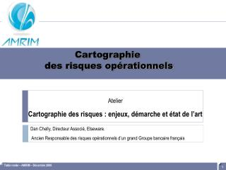 Cartographie des risques op�rationnels
