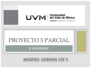 Proyecto 3 parcial