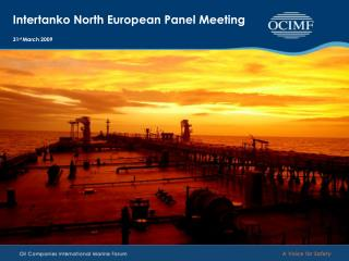 Intertanko North European Panel Meeting