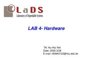 LAB 4- Hardware