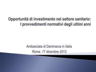 Opportunità di investimento nel settore sanitario: I provvedimenti normativi degli ultimi anni