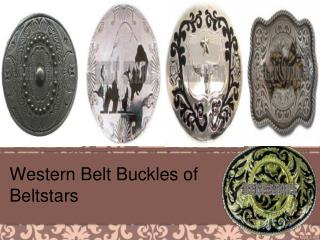 Western Belt Buckles of Beltstars
