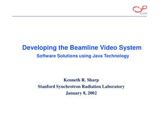 Developing the Beamline Video System  Software Solutions using Java Technology