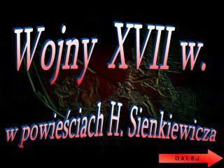 Wojny  XVII w.