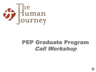 PEP Graduate Program Call Workshop
