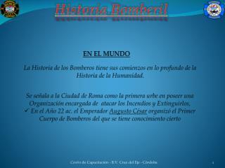 Historia  Bomberil