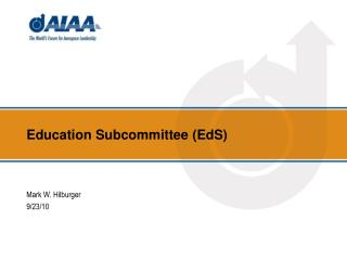Education Subcommittee (EdS)