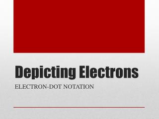 Depicting Electrons