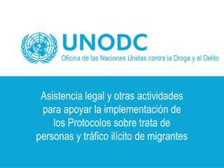 Oficina de las Naciones Unidas contra la Droga y el Delito