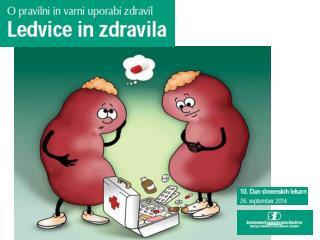 Ledvice in zdravila Zgradba in delovanje ledvic