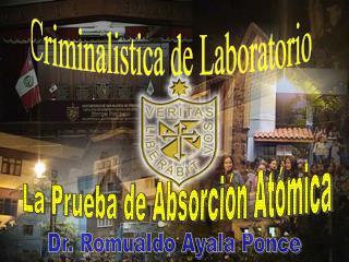 Criminalistica de Laboratorio