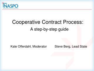 Cooperative Contract Process: