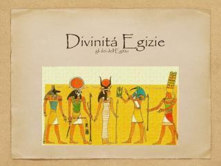 Divinit� Egizie