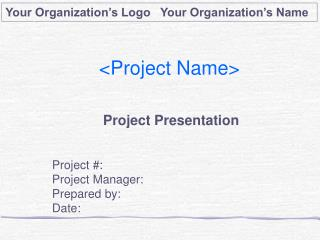 <Project Name>