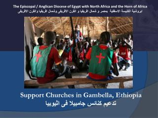 The Episcopal / Anglican Diocese of Egypt with North Africa and the Horn of Africa