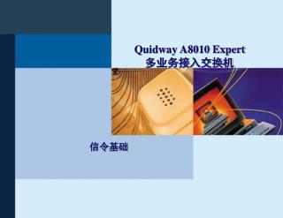 Quidway A8010 Expert 多业务接入交换机