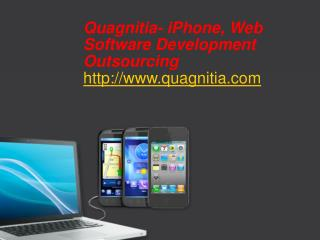 Quagnitia- iPhone, Software Development Outsourcing