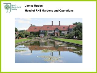 James Rudoni Head of RHS Gardens and Operations