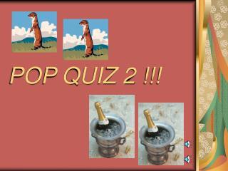 POP QUIZ 2 !!!
