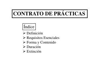 CONTRATO DE PRÁCTICAS