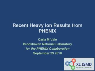 Recent Heavy Ion Results from PHENIX