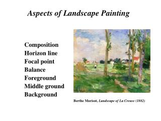 Aspects of Landscape Painting