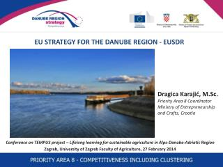 EU STRATEGY FOR THE DANUBE REGION - EUSDR