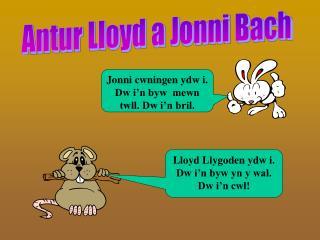 Antur Lloyd a Jonni Bach