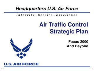 Air Traffic Control  Strategic Plan