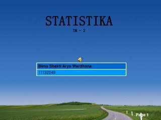 STATISTIKA TM - 2