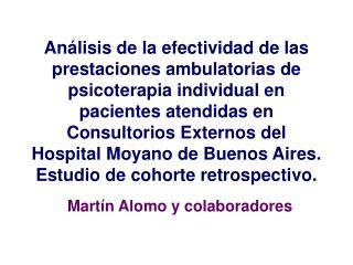 Martín Alomo y colaboradores