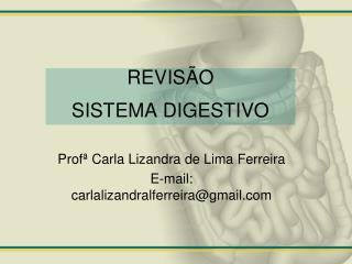 REVIS�O  SISTEMA DIGESTIVO