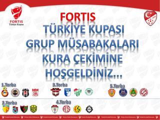 Türkİye KupasI Grup MÜSABAKALARI Kura  çekİmİne Hoşgeldİnİz ...
