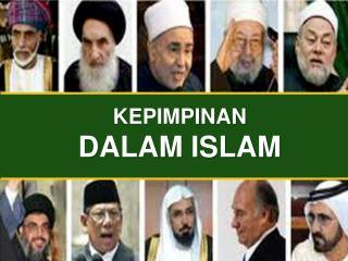 KEPIMPINAN  DALAM ISLAM