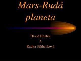 Mars-Rud� planeta