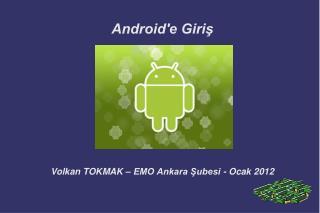Android'e Giriş