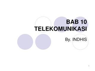 BAB 10  TELEKOMUNIKASI