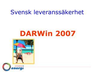 Svensk leveranssäkerhet