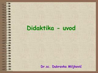 Didaktika - uvod