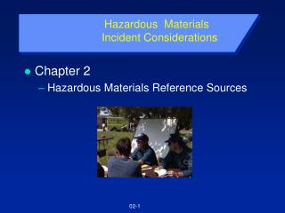 Hazardous  Materials    Incident Considerations